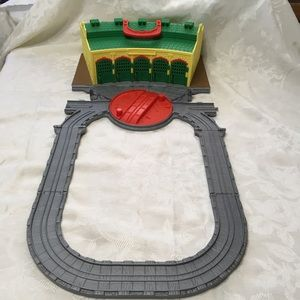 Thomas The Train fold and carry station and track
